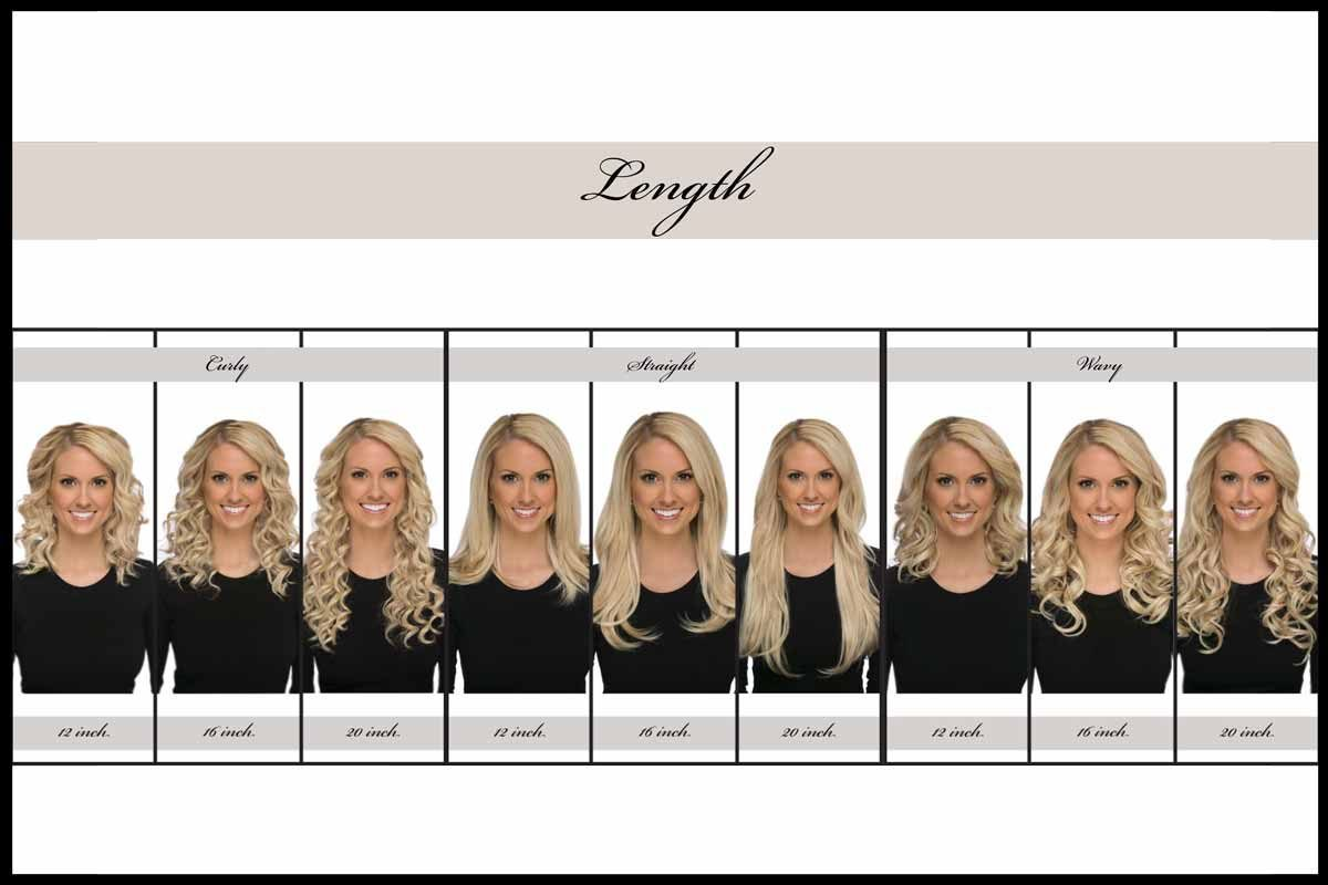 How To Choose Your Length Of Hair Extensions Lox Hair Extensions